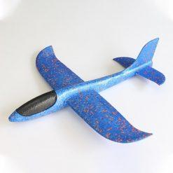 Đồ chơi máy bay xốp phi tay - màu xanh dương