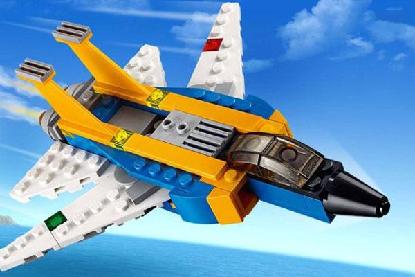 Bộ lắp ráp mô hình máy bay tương lai