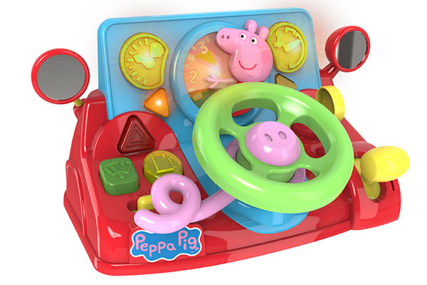 Ô tô đồ chơi cho bé Peppa Pig 1684728INF