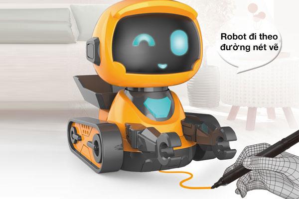 Robot đồ chơi thông minh đi theo đường vẽ KAVY