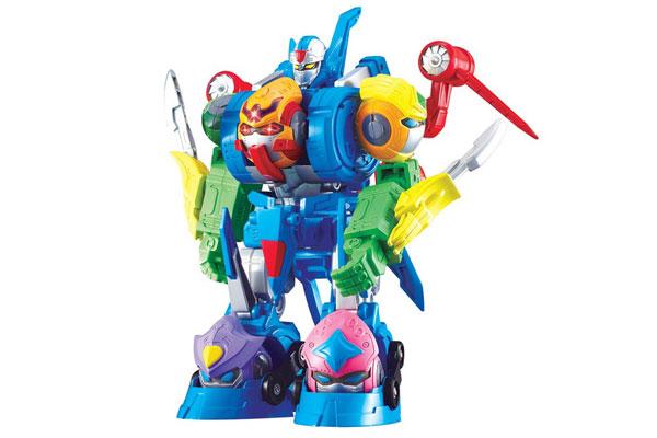 Robot đồ chơi trái cây thất tinh siêu Robo Auldey
