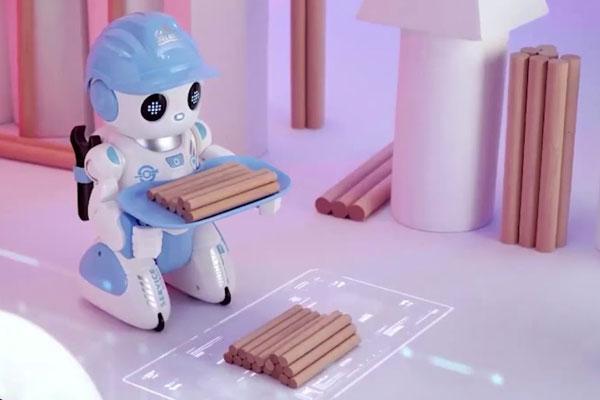 Đồ chơi robot thông minh quản gia Vecto VT18083