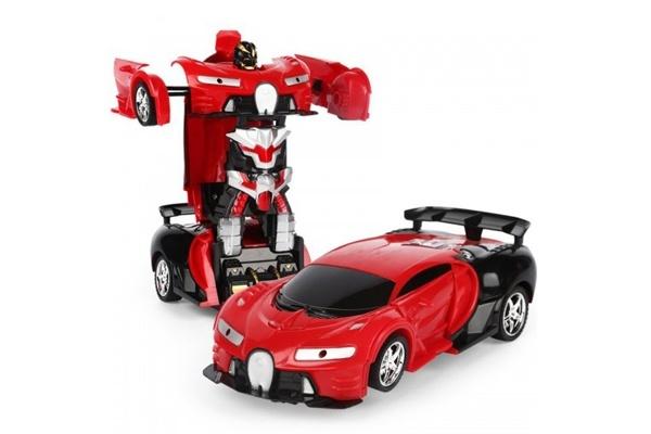 Robot biến hình chiếc xe Bugatti phát nhạc