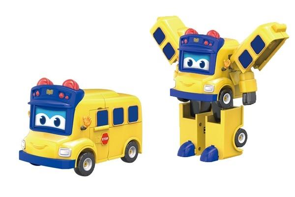 Robot xe buýt biến hình thông minh Gogo Bus