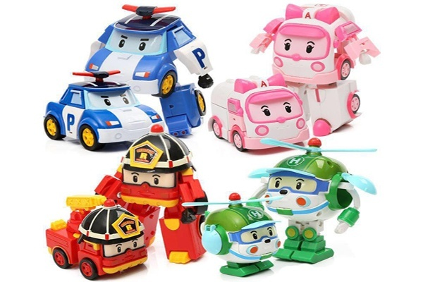 Xe robot biến hình robot biệt đội Robocar Poli