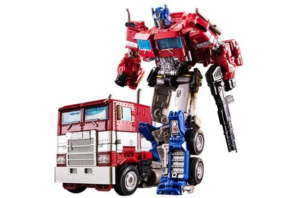 Đồ chơi robot biến hình xe Optimus Prime OP