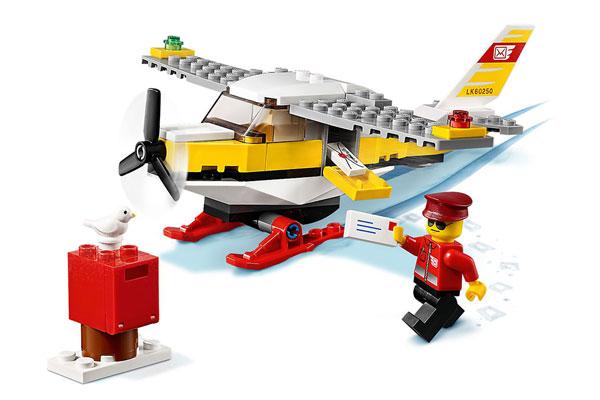 Bộ xếp hình máy may đưa thư LEGO CITY